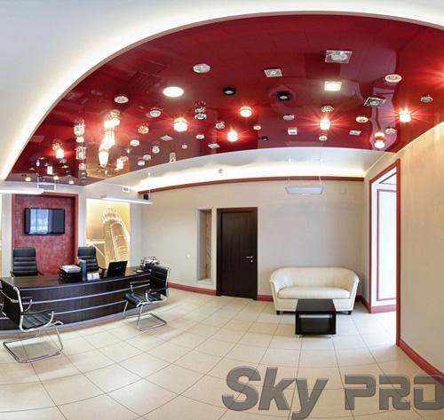 светильники в офисе SkyPRO в Пскове
